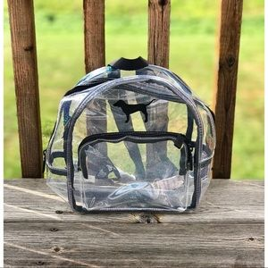 VS PINK | clear mini backpack
